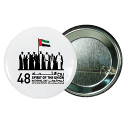 National Day Button Badges
