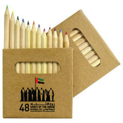 National Day Color Pencils