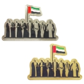 National Day Gold & Silver Badges
