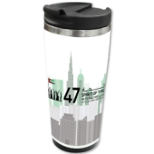 National Day Steel Travel Mugs